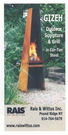 art piece fireplace