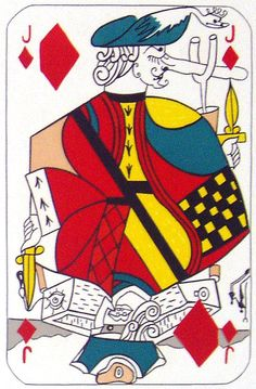 Salvador Dali, Jack of Diamonds