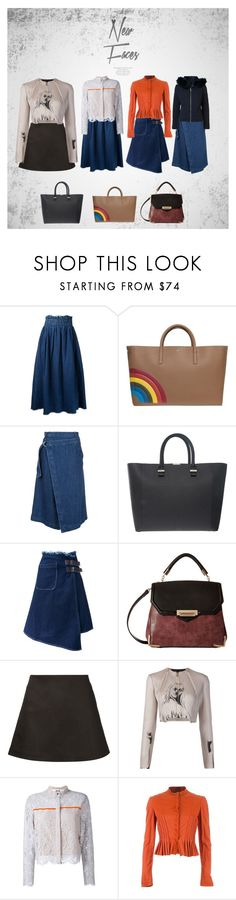 """Unique wear#"" by racheal-taylor ❤ liked on Polyvore featuring Topshop, Maison Mihara Yasuhiro, Anya Hindmarch, Sea, New York, Victoria Beckham, Gabriella Rocha, 321, dominic louis, MSGM and Project Alabama"