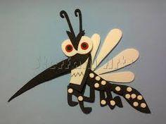 Resultado de imagem para molde mosquito da dengue em e.v.a
