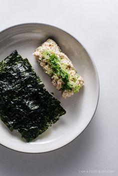 miso tuna salad recipe - www.iamafoodblog.com