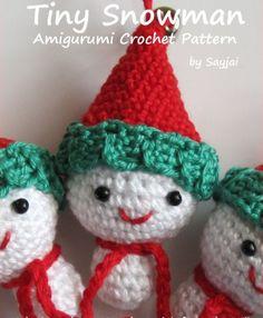 Snowman+Scarf+Crochet+Pattern | cute snowman crochet pattern