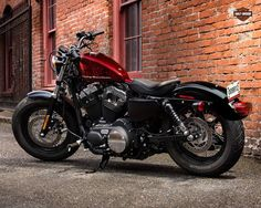 Harley Davidson Forty Eight #motorcycles #bobber #motos | caferacerpasion.com