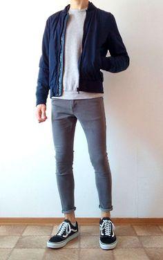 Vans old skool skinny jeans boys guys outfit vans love Boy Outfits, Casual Outfits, Men Casual, Mens Style Guide, Boys Jeans, Urban Outfits, Mens Clothing Styles, Look Cool, Streetwear Fashion