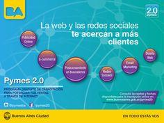 Cafydma recomienda a sus socios y amigos los cursos de PYMES 2.0    (Información publicada por Mg. Javier Klyver. Consultor en Comunicación y Marketing)