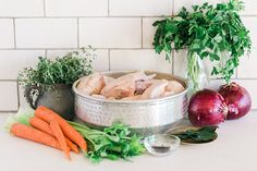 How to Make Healthy Homemade Chicken Stock **