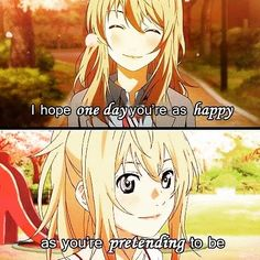 ...HOW CAN HE BE HAPPY WITHOUT HER