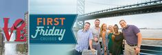 Celebrate First Friday in Old City on the Spirit of Philadelphia. Enjoy a delicious buffet menu featuring a build your own cheesesteak station, a free Yards beer or glass of wine for each guest over 21, DJ entertainment, and of course, unbeatable views of the Philadelphia skyline.