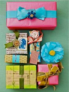 H is for Handmade: Wrap it up!