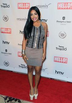 Melinda Shankar at the Hello! Canada Gala in Toronto on May 9, 2013