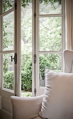 french doors... great look