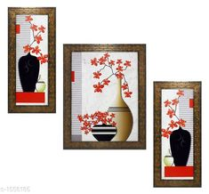 Checkout this latest Paintings_500-1000 Product Name: *Colorfull Wall Painting (Set Of 3)* Material: Wood & Plastic Size: Frame 1 (L x W) - 6 In x 13 In Frame 2 (L x W) - 10.2 In x 13 In Frame 3 (L x W) - 6 In x 13 In Description: It Has 3 Pieces Of Frames With Paintings (Glass Is Not Included) Work: Printed Country of Origin: India Easy Returns Available In Case Of Any Issue   Catalog Rating: ★4 (200)  Catalog Name: Spiritual Colorfull Wall Paintings Combo Vol 2 CatalogID_202309 C127-SC1611 Code: 482-1556185-645