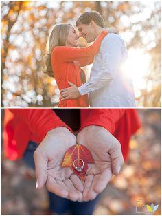 Fall Engagement:: Wedding Photography, Knoxville, TN   {leah bullard photography}