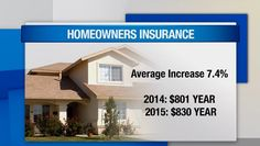 Car and home insurance rates expected to rise.