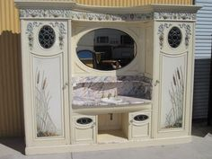English Antique Victorian Bathroom Vanity Antique Cabinet Architectural Furniture - For sale on Ruby Lane Victorian Toilet, Victorian Bathroom, Antique Cabinets, Antique Doors, Bathroom Sink Plumbing, Victorian Style Homes, Furniture Sale, Bathroom Furniture, Antique Furniture