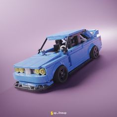 LEGO inspired by BMW 3 series Tuned - building instructions and parts list. Lego Sports, Lego Wheels, Lego Racers, Lego Sculptures, Lego Builder, Cool Lego Creations, Lego Group, Bmw E30, Lego Moc
