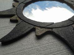 stone mirror made by Yılmaz