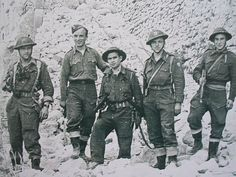 Polish Soldiers 2nd Polish Corps Monte Cassino, Italy 1944, pin by Paolo Marzioli