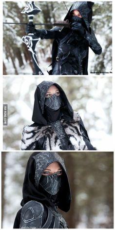 Amazing Nightingale cosplay