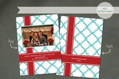 Custom Christmas Card Christmas Gift by annblairecreations on Etsy, $17.00