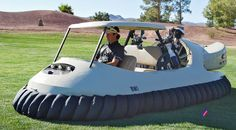 How Oakley Got Bubba Watson Behind The Wheel Of A Hovercraft Golf Cart