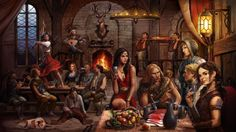 Female Bard who sits in Taverns, playing her lute and seducing patrons so she can sleep with them and rob them in the middle of the night. Description from pinterest.com. I searched for this on bing.com/images