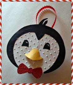 Craftily Yours: Penguin Tea Light Ornament