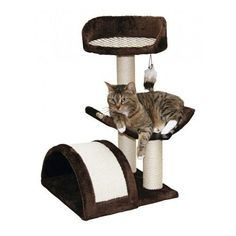 Cat Towers Tree Condo Play House Furniture Scratching Post Kitten Scratcher