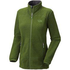 Mountain Hardwear Toasty Tweed Fleece Jacket (For Women) in Jungle