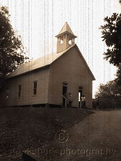 A Church in Cades Cove, Smokey Mountains TN, Have your wedding at a old church.