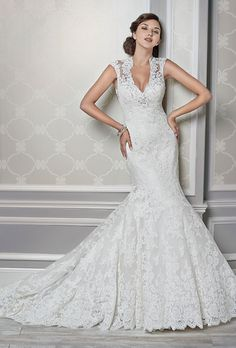 Brides: Kenneth Winston - Fall 2015. Wedding dress by Kenneth Winston