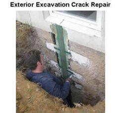 9 best foundation crack repair images foundation repair epoxy rh pinterest com