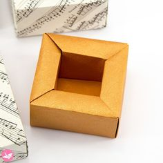Origami Planter Pot Box tutorial: http://bit.ly/origami-planter Made from 1 sheet of square paper. #origami #box #origamibox #paperfolding #paperkawaii #diy