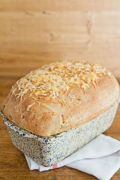 Zucchini Cheddar Bread (whole wheat)