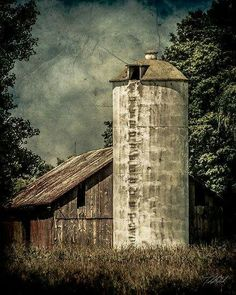 Looks like the silo on our farm. climbed this every day during winters.
