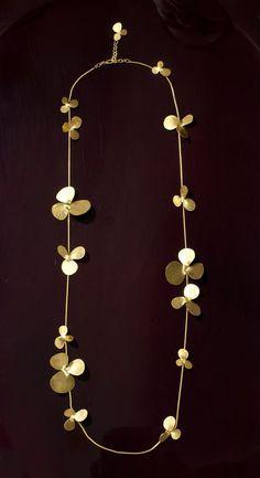 Visibly Interesting: Herve Van Der Straeten Long Petal Necklace