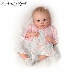 Lifelike Baby Girl Doll: A Moment In My Arms, Forever In My Heart by Ashton…