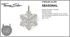 Thomas Sabo Fall 2012 - Seasonal Collection - Snow Flake Pendant