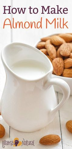 Almond milk is a delicious, alkalizing drink that is a wonderful alternative if you're avoiding dairy. Making almond milk is also really easy!