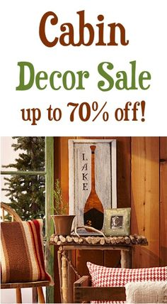 Cabin Decor Up To 70 Off
