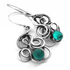 #wirework Kolorowe wywijaski   Wioleta Hajcz-biżuteria autorska