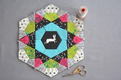 English Paper Piecing - Mug Rug, Part 1: Getting Started