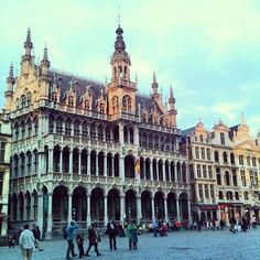 Grand Place / Grote Markt in Brussel, Brussels Hoofdstedelijk Gewest