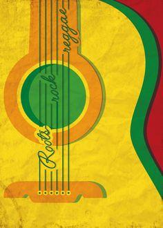 Roots, Rock, Reggae | Venezuela | International Reggae Poster Contest
