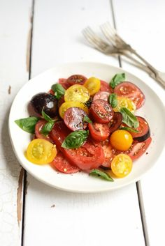 From The Kitchen: Ugly Beautiful Tomato Salad ... #recipe #healthy #salad