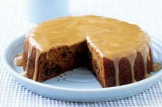 Sticky date cake with caramel sauce main image