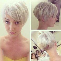 Cheveux blonds courts mignon pour les filles