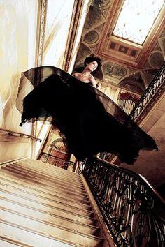 High Fashion: Erin Wasson in Gucci via Harper's Bazaar via WSJ. #Photography #Erin_Wasson #Harpers_Bazaar #WSJ