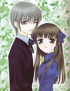 Yuki Sohma and Tohru Honda - The first part of Furuba seemed to really hint on Yukiru, so imagine my shock when I heard from a friend that things ended differently. Ugh! Took me months before curiosity finally got the best of me and I finally googled the evidence of my crushed pairing dreams.