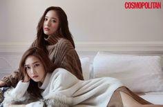 #Jessica & Krystal on Cosmopolitan Korea November issue